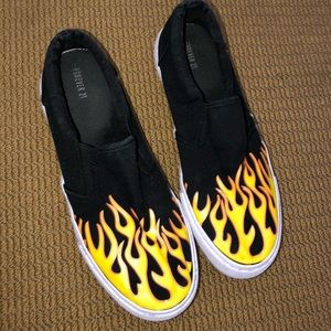 Flame slip on shoes